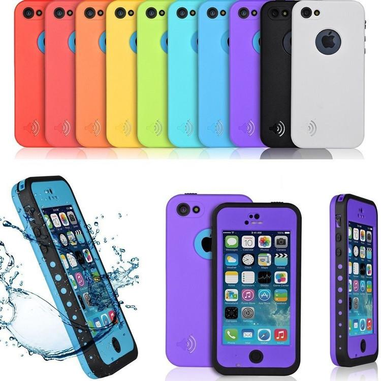 Newest Waterproof Dirt Proof Shockproof Case For Apple ...