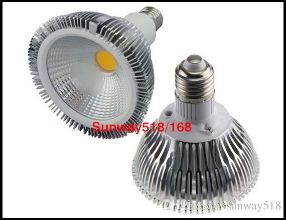 Dim E27 Led Ampuller 10 W 20 W 30 W par20 par30 par38 Led Spot Işıkları Led Parça Lamba Ampul AC 85-65 V CE ROHS Değiştirin