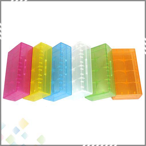 2 * 18650 batteriekasten box sicherheit halter vorratsbehälter kunststoff tragbare fall fit 2 * 18650 oder 4 * 18350 cr123a 16340 batterie dhl frei