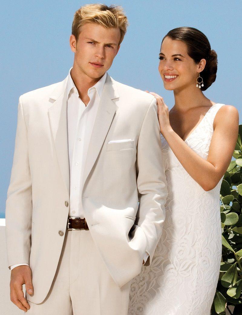 Custom made Tuxedos Groomsmen suits Beige Wedding suits for Men ...