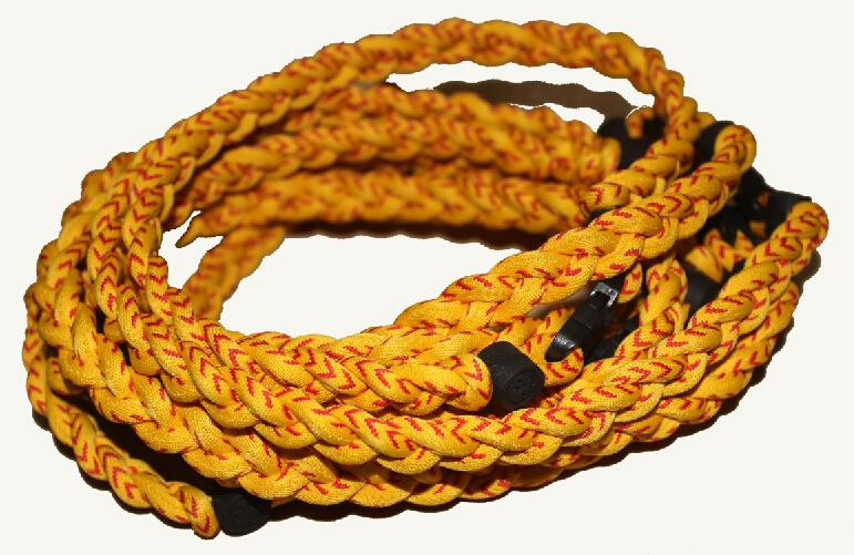 Wholesale -2015 new baseball necklace 3 ropes tornado braided titanium necklace baseball football Germanium