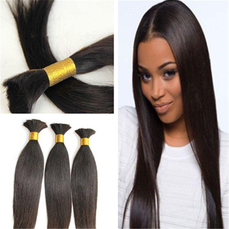 new models human hair extension weave hair bulk