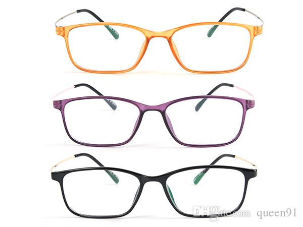 Retro Eyewear Frame Fashion Spectacles Men Women Glasses Frame With ...