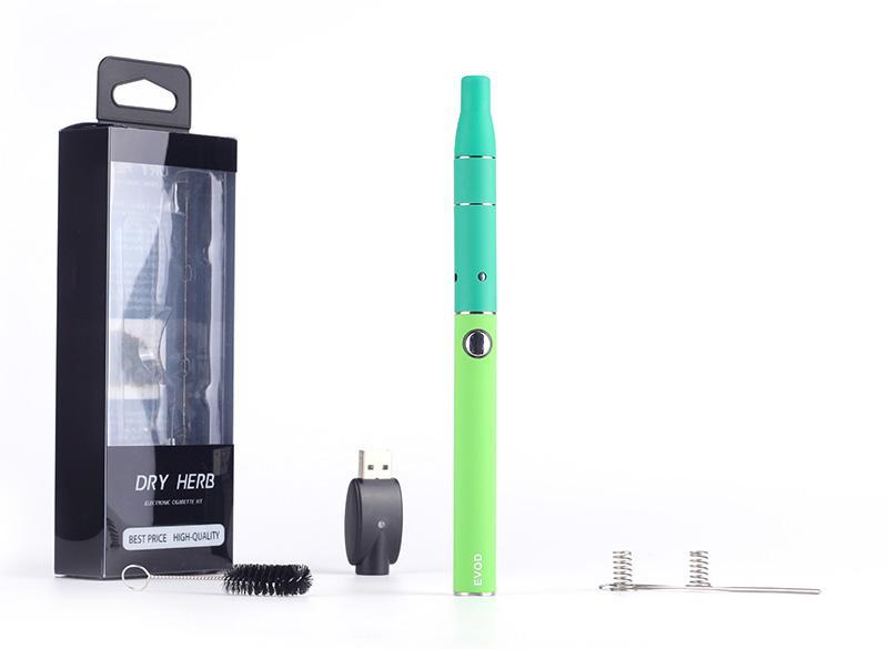 Cigarette électronique Evod il y a g5 blister kit de démarrage e cigarette ego evod batterie e cigarette sèche cire aux herbes atomiseur g5 vaporisateur stylo vapeur