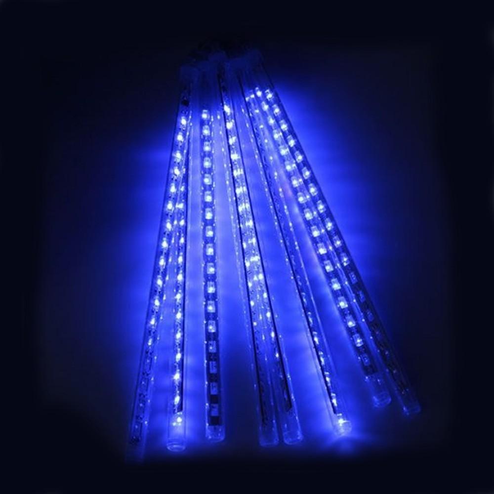 20 cm 30 cm 50 cm Impermeable Meteor Ducha Tubos de lluvia Iluminación LED para la fiesta Decoración de la boda Navidad Vacaciones LED Luz de meteorito