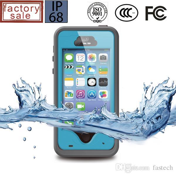 2017 NEW hot original RedPepper Case for apple iPhone 5 5s Waterproof mobile phone shell fingerprint Touch ID identificatio