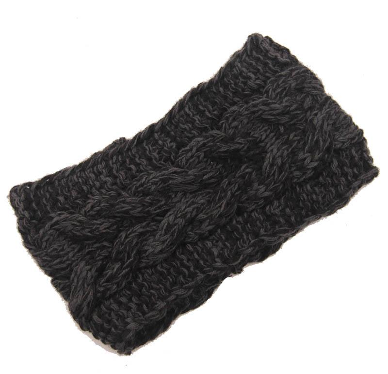 7fe2c80d29c496 2015 Winter Hair Band Handmade Women'S Fashion Wool Crochet Headband Knit  Flower Winter Ear Warmer Headbands D706J UK 2019 From China Yo Yo Holder,  ...