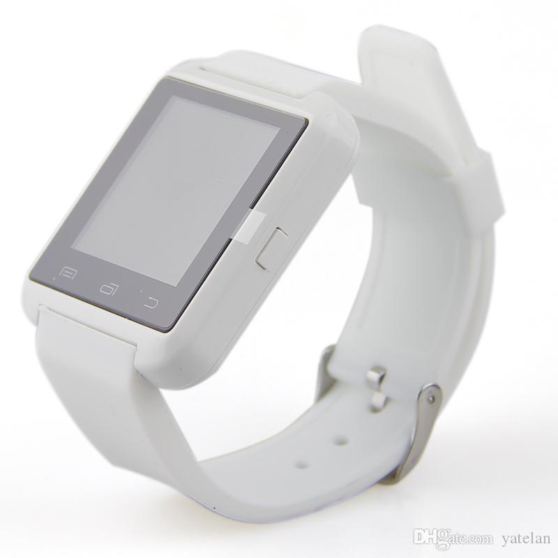 Bluetooth Akıllı Izle Kol Saati U8 U İzle Samsung HTC Huawei için LG Xiaomi Android Telefon Akıllı Telefonlar Destek Sync Çağrı Mesaj