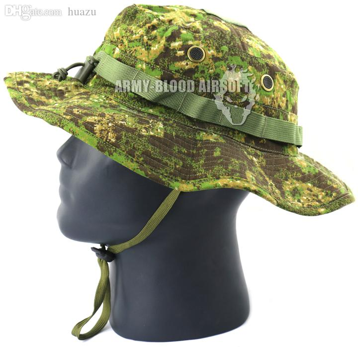 Wholesale EMERSON MILITARY Tactical Boonie Hat PenCott GreenZone Bucket Hats  Tea Party Hats Rain Hat From Huazu 3759939d6ca2