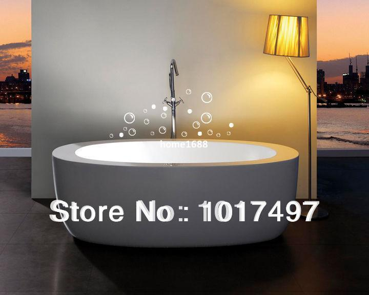 Free Shipping 25 Soap Bubbles bathroom tile stickers, funny Waterproof vinyl wall art decor bathroom glass stickers,c3002