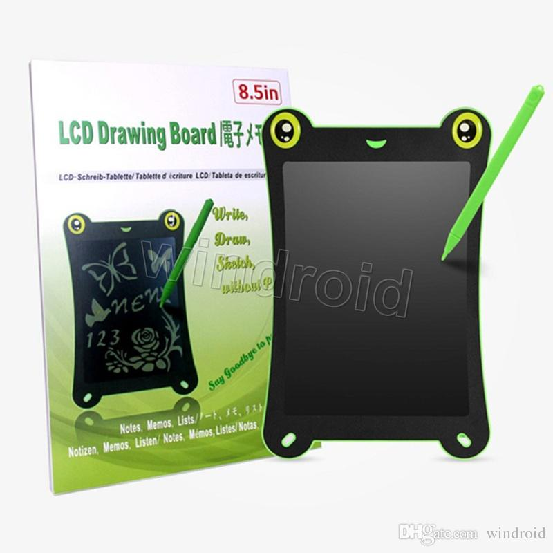 2018 8.5 Inch Frog Cartoon Lcd Writing Tablet Pads Touch Pad ...