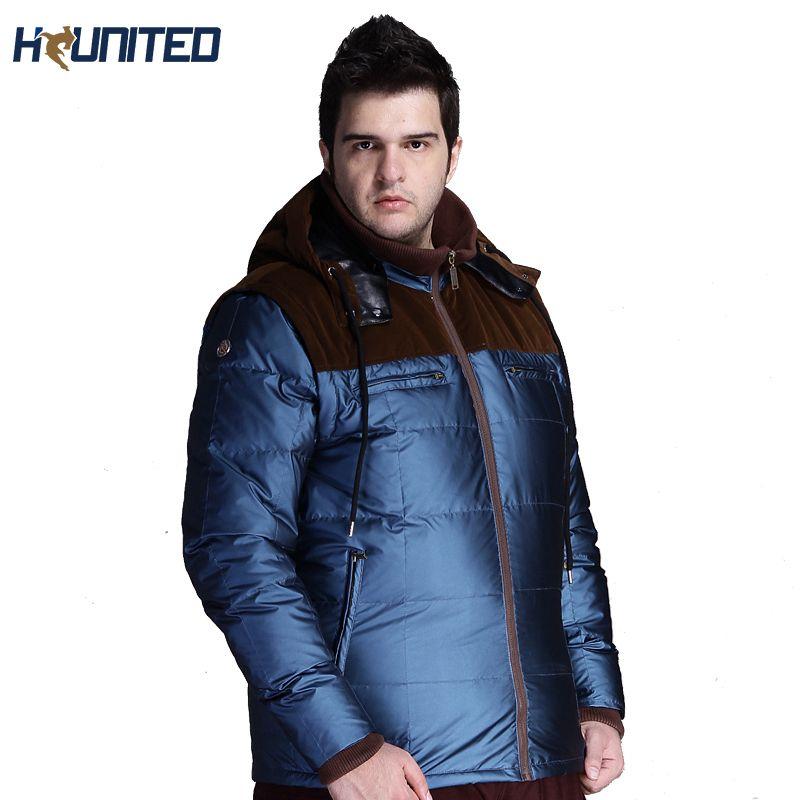 44eac0737 Fall- New Arrival Winter Jacket Men:Big Tall Zip Super Warm Men s Duck Down  Jacket Outdoor,2XL-4XL Parka Men Plus Size Coat