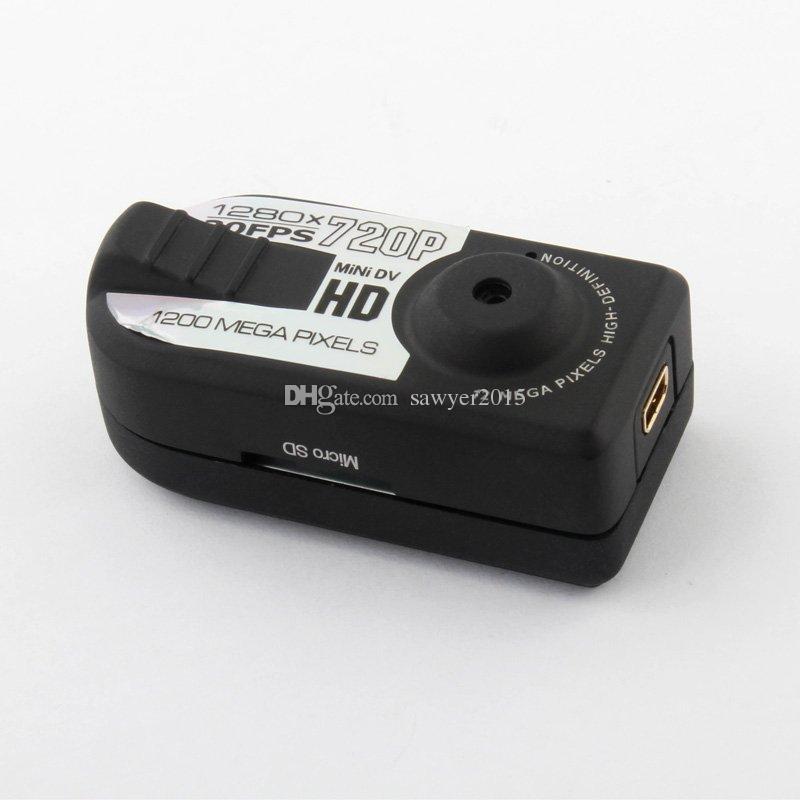 HD Mini Thumb DV Q5 Mini DVR 720P 30FPS Спортивные мини-камеры Обнаружение движения видеокамеры PC WebCam Digital Video RecoDer