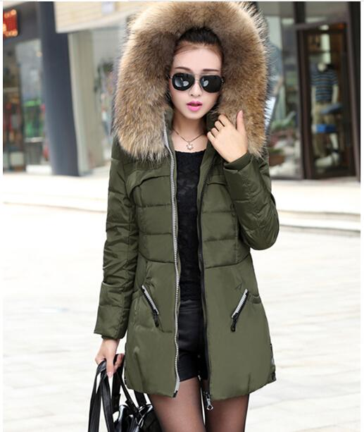 Online Cheap New 2015 Winter Women Jacket Coat Thicken Slim Female ...