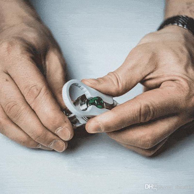다기능 Vape Tweezer 배치 코 일러 조정 와이어 스 패너 도구 DIY RDA Vapers에 대 한 절연 된 지 르 코니 아 세라믹 Tweezer