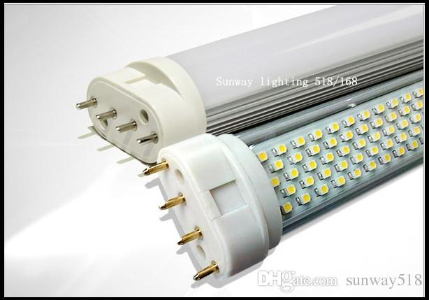 10W 12W 15W 18W 22W 2G11 LED TUBE 4pin 225MM 320MM 410MM 535MM LED Light Lamps 110LM WCE ROHS AC100 to 240V