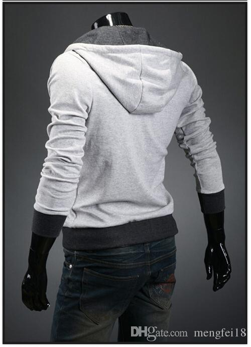 2017 Najnowszy Nowy Assassin's Creed Desmond Miles Style Cosplay Hoodie Multicolor Opcjonalna Darmowa Wysyłka D225