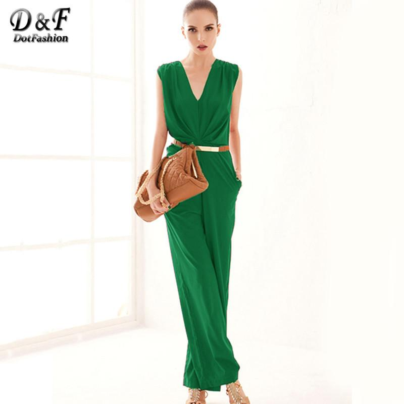 Plus Size Rompers For Women Bodysuits Imported Clothing Formal Green