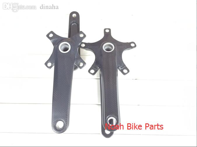 Wholesale-Original!Hign Qaulity!170mm/172.5mm road bike/MTB 3K ultra-light carbon fiber crank crank with axis bicycle parts,free shipping