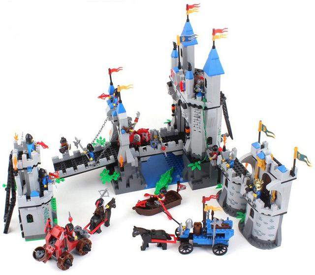 Toy Castle Show : Enlighten building blocks hot toy castle knight