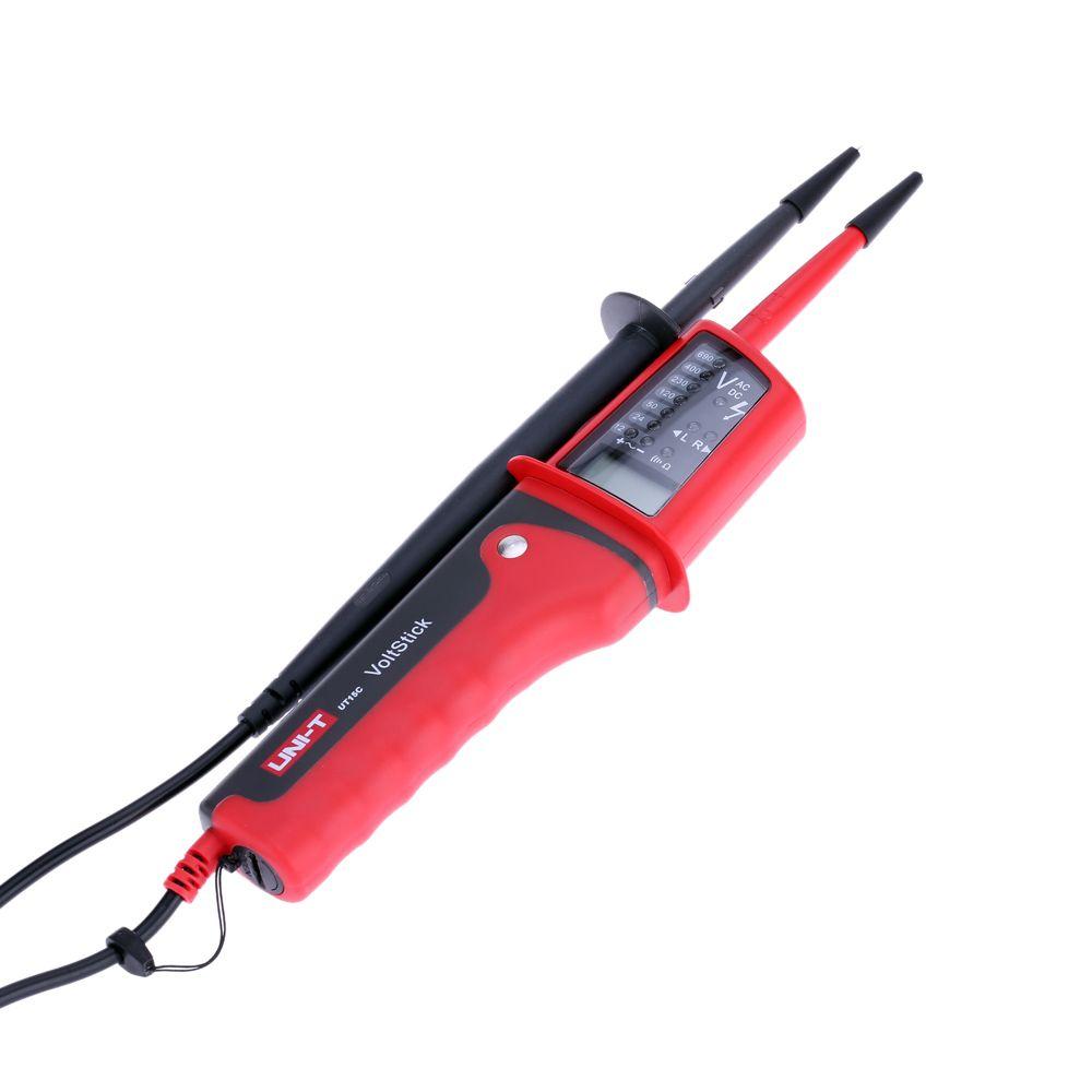 Freeshipping IP65 نوع اختبار الجهد الفولتميتر ماء الفولتميترو الجهد متر كهربائي أداة تشخيصية
