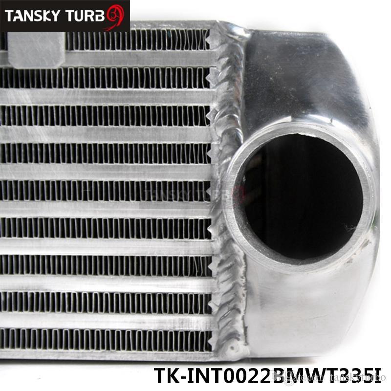 Tansky - BMW 135 135i 335 335i E90 E92 06-10 N54 Twin Turbo Intercooler con kit tubo flessibile in silicone rosso TK-INT0022BMWT335IQ