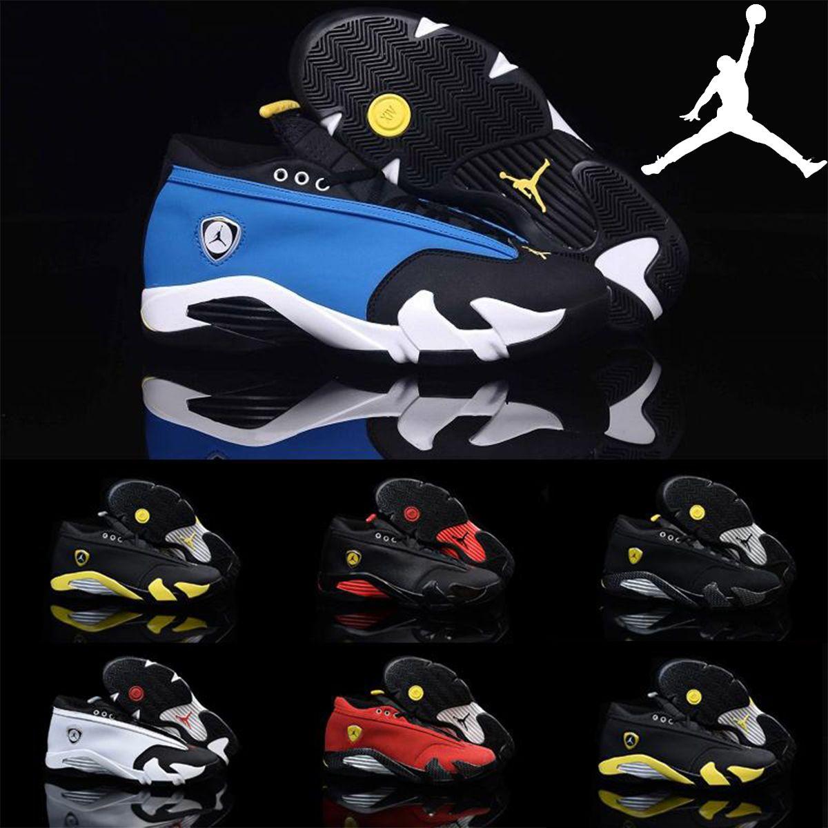 low priced 787a0 dbc45 Nike Air Jordan 14 Retro Low Laney Royal Blue 807511 405 Mens Basketball  Shoes,Brand New AJ14 Retro 14 XIV Sneakers J14s Low 36 47 Shoes Canada  Carmelo ...