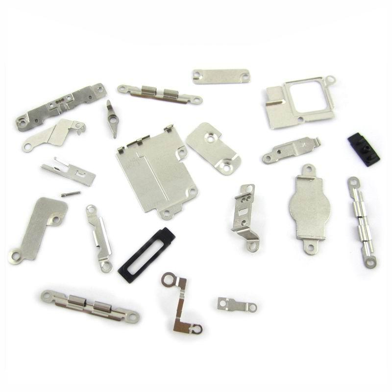 1221bca06344d 1 Set 21 pcs in 1 set Inner Small Parts Brackets Replacement Part For  iPhone 5 5S 5C 4G 4S 6G 6P 7G 7Plus Brackets