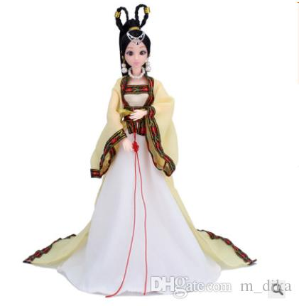 Chinese Costume Barbie Dolls Ancient Dress Up Doll Fairy 3d Real Fairy Girl Birthday Gift Ornaments Barbie Doll Clothes Matching Doll And Girl Clothes From ...  sc 1 st  DHgate.com & Chinese Costume Barbie Dolls Ancient Dress Up Doll Fairy 3d Real ...