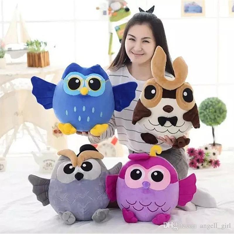 2019 New Plush Toys 25cm Kawaii Owl Stuffed Animal Plush Sleeping
