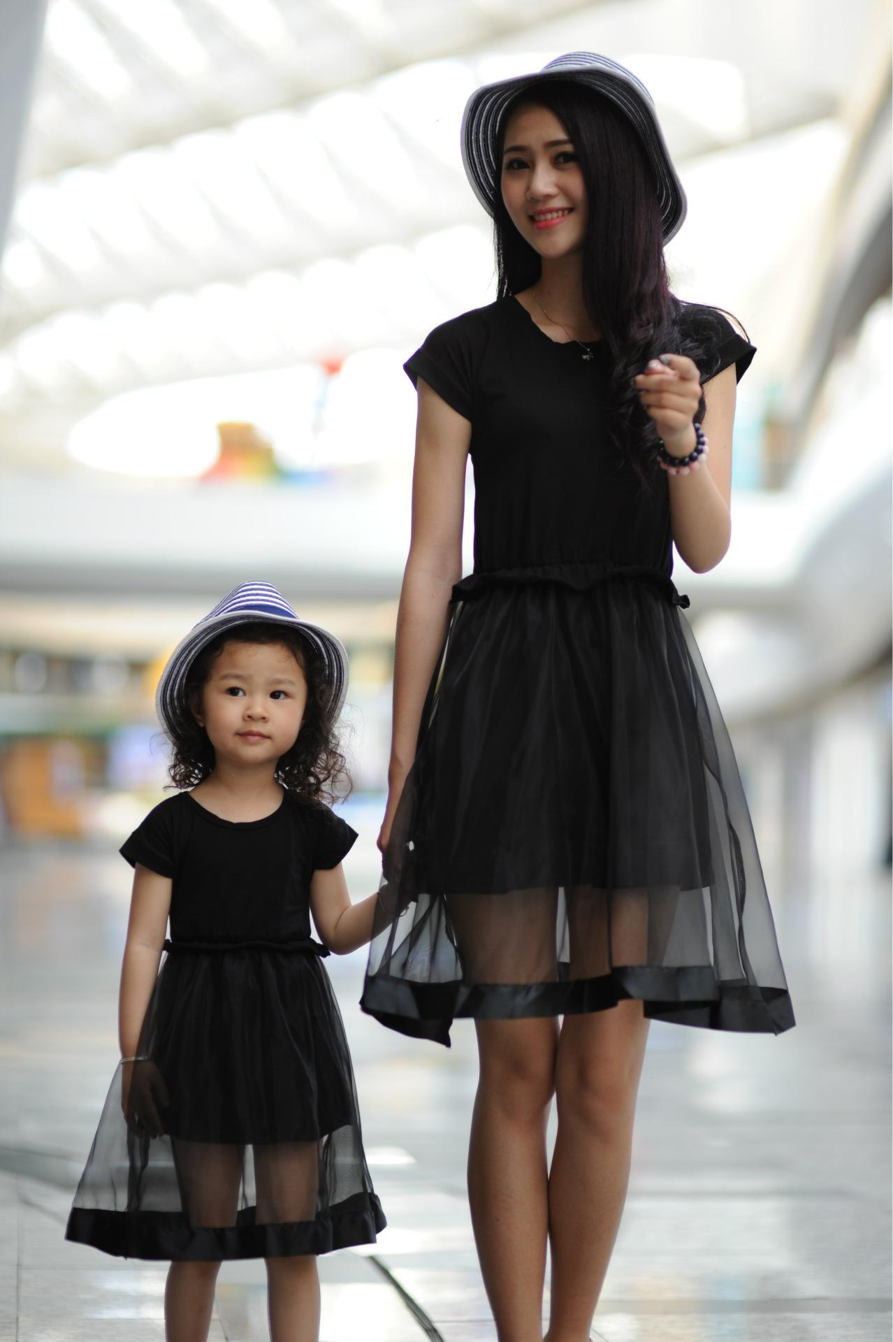 Mother Baby Dress Fashion Dresses