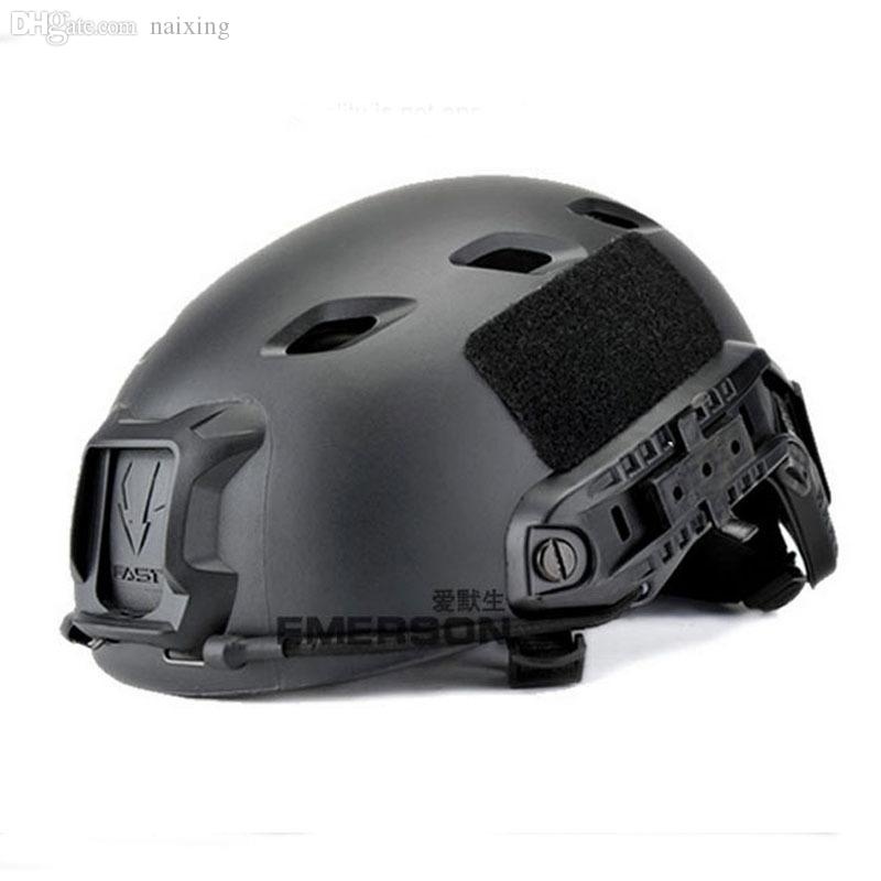 Wholesale-Emerson US Army Fast Helmet Military Tactical Combat Helmet for  Airsoft Paintball BASE Jump Helmets Lightweight Cycling Helmet Helmet  Military ... 0b2800278494