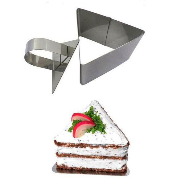 2017 Yeni Yüksek Kalite DIY Mutfak Aracı Fondan Paslanmaz Çelik Kek Kesici Bakeware Mus Kalıp