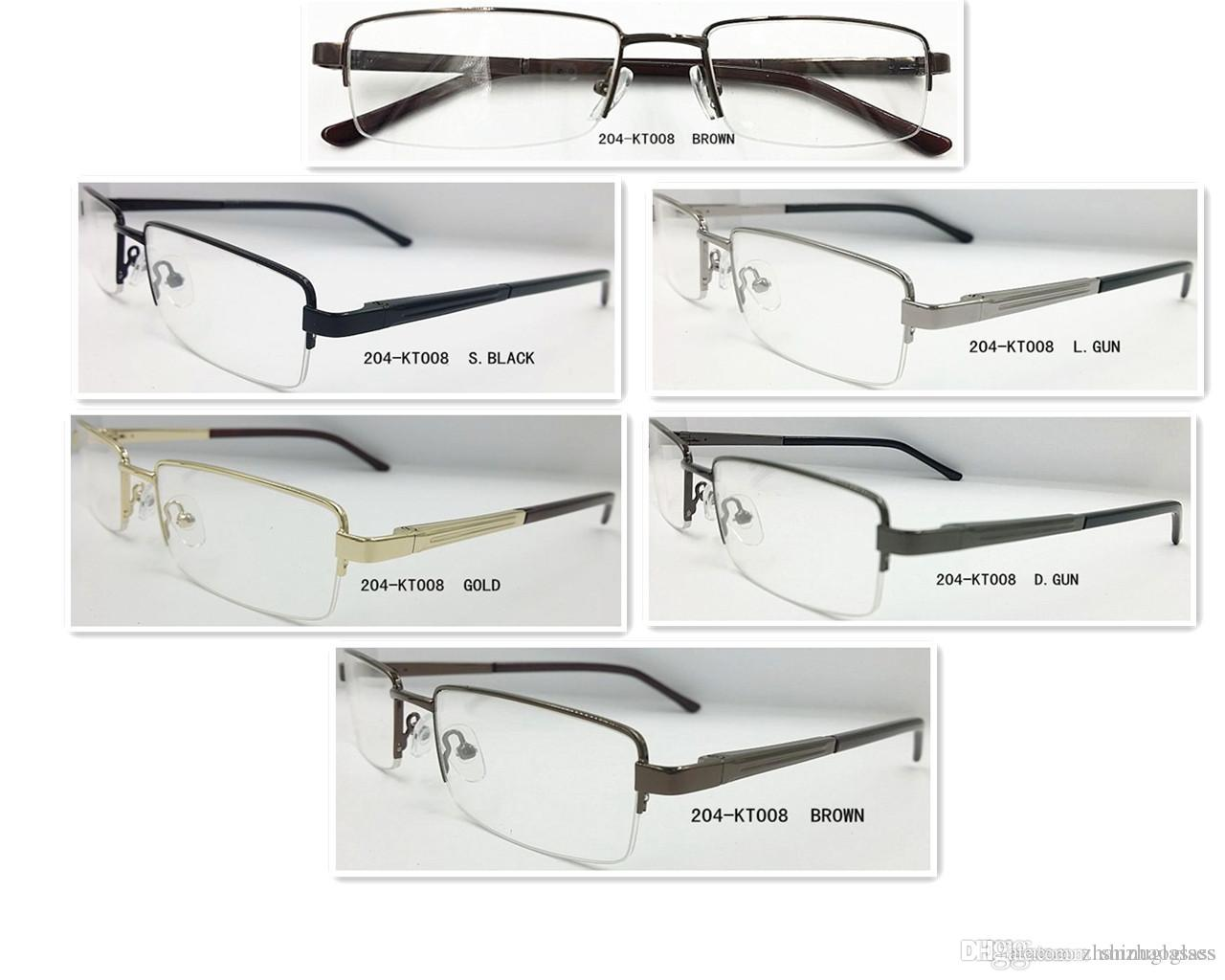 High Quality Vintage Small Square Frame Glasses Frame Male Women ...