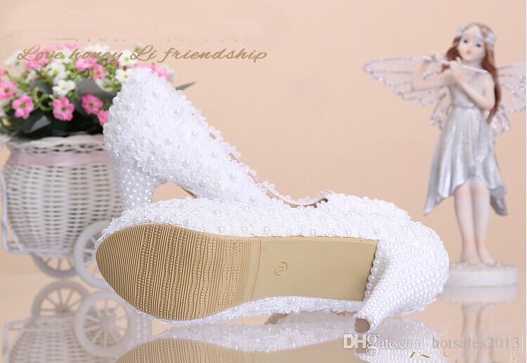 Schöne Platform High Heel Kleid Schuhe Braut Hochzeit Kleid Schuhe Abendkleid Schuhe Jahrestag Party Prom Schuhe Brautjungfer Schuhe