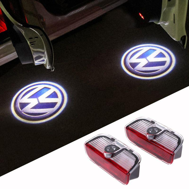 2018 Car Door Welcome Light Bright Vw Logo Project Light