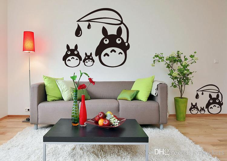 Attrayant Anime Cartoon Raindrop Totoro Childrenu0027S Room Or Baby Nursery Children Wall  Paper Sticker Wall Sticker Decal Home Decor For Anime Fans Buy Decals Buy  Wall ...