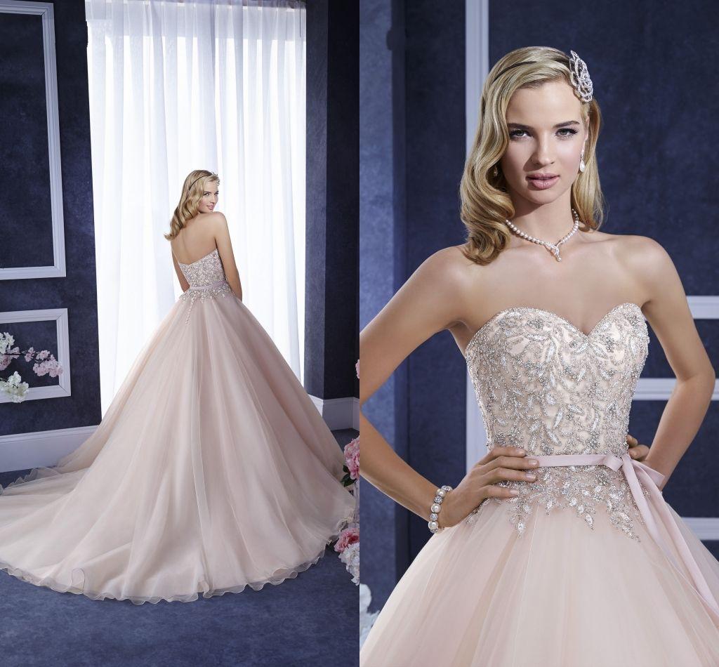 2016 Maternity Blush Champagne Wedding Dresses Ronald Joyce ...