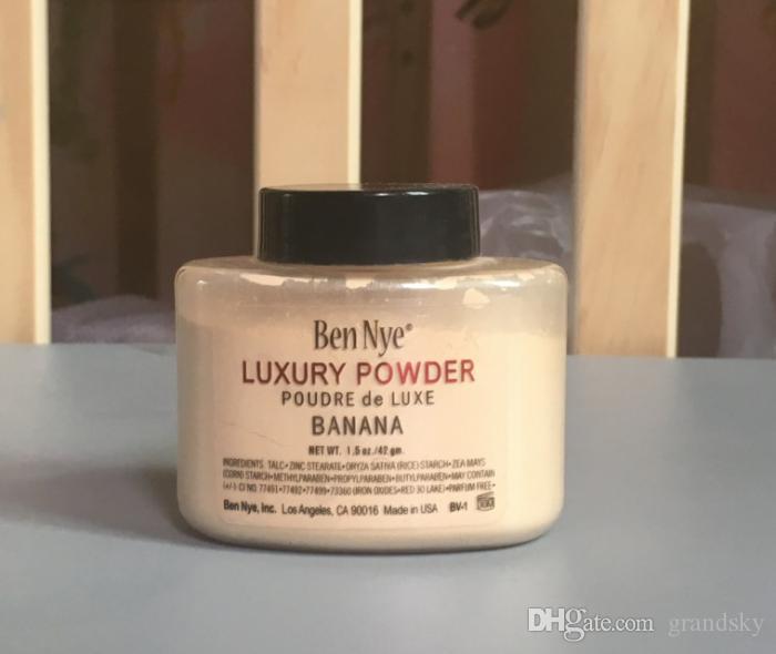 Best Quality Ben Nye Fondotinta in polvere di lusso naturale cipria in polvere sciolto impermeabile banana illuminare a lunga durata idratante correttore 42g
