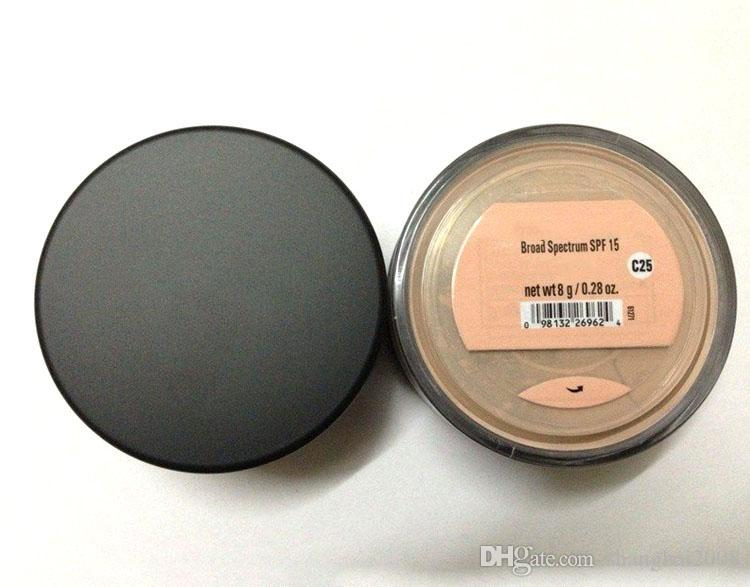 2021 Maquillaje Minerales Fundación 8G SPF15 Polvo de cara Medio / Luz / Feria / Tan / Fairly Light / Medium Beige / Mineral Vail