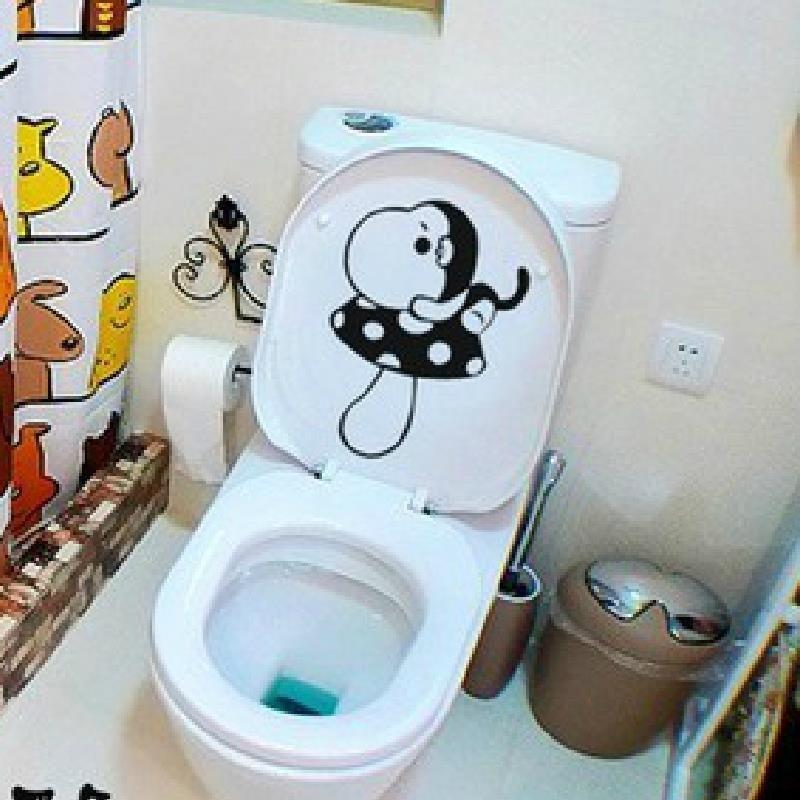 Bathroom Decorative Items Monkey Portable Toilet Decor Bathroom Wall Decal  Sticker Pegatinas Wc Wall Stickers Nursery Wall Stickers Quotes From  Wxf942015, ...