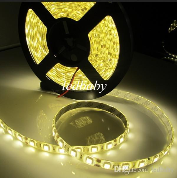 Waterproof ip65 300 led 5m 5050 smd single color flexible led waterproof ip65 300 led 5m 5050 smd single color flexible led strip light cool white warm white 60ledsm ce rohs 12v led light strips car led light strips sciox Gallery