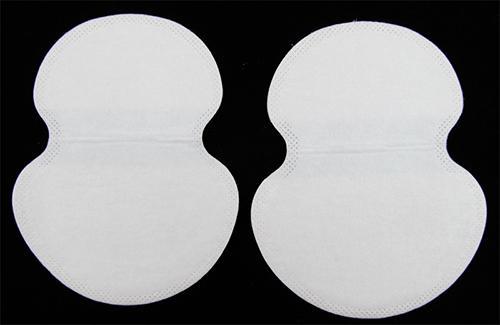 Ascellare ascelle sudore pastiglie scudo guardia assorbente foglio monouso all'ingrosso