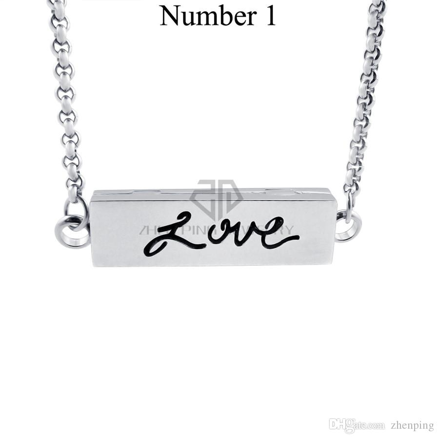 Chains as Gift! 35MM*10MM Silver My Hero Stainless Steel Essential Oils Aromatherapy Family Perfume Diffuser Necklace