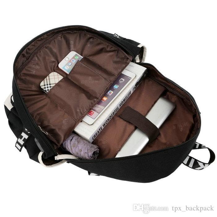 Profile backpack LeBron James day pack Side face school bag Basketball packsack Laptop rucksack Sport schoolbag Out door daypack