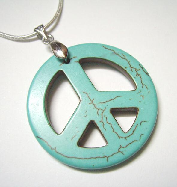 Wholesale turquoise peace sign pendant charms fit diy craft jewelry wholesale turquoise peace sign pendant charms fit diy craft jewelry t27 by dhl picture pendant necklace family pendant necklace from welcom98 aloadofball Images