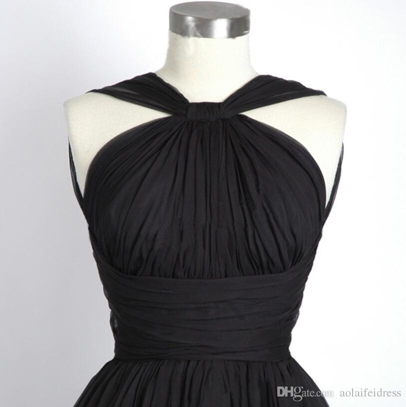 저렴한 짧은 신부 들러리 드레스 웨이터 민소매 제국 A 라인 Bridemaid 드레스 플러스 사이즈 진짜 사진 드레스 사용자 정의