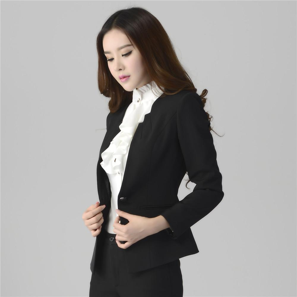 2018 2016 womens business suitsformal office pant suits