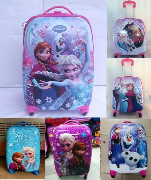 For Kids Trolley Bag Abs   Pc School Bags Frozen Children S Suitcase  Universal Wheel Series Check In Luggage Canada 2019 From Wall Street