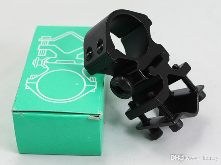 Morsetto universale a clip a pinza a farfalla, clip multi-tubo a clip a coda di rondine, stent strumenti ottici, clip in metallo a 8 caratteri flashligh